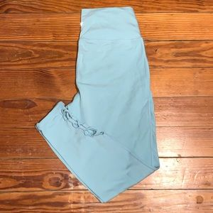OLD NAVY ACTIVE BLUE LEGGINGS SIZE LARGE